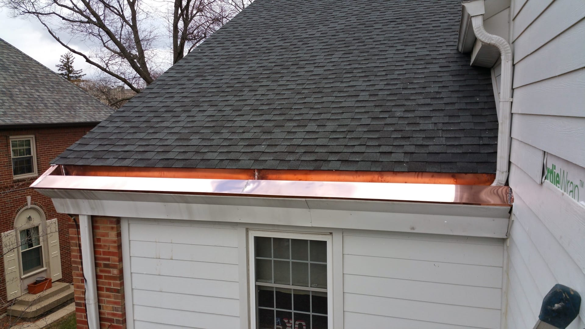 Image of Copper Gutters